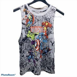 Marvel sleeveless shirt Size Large Men's Pre Owned